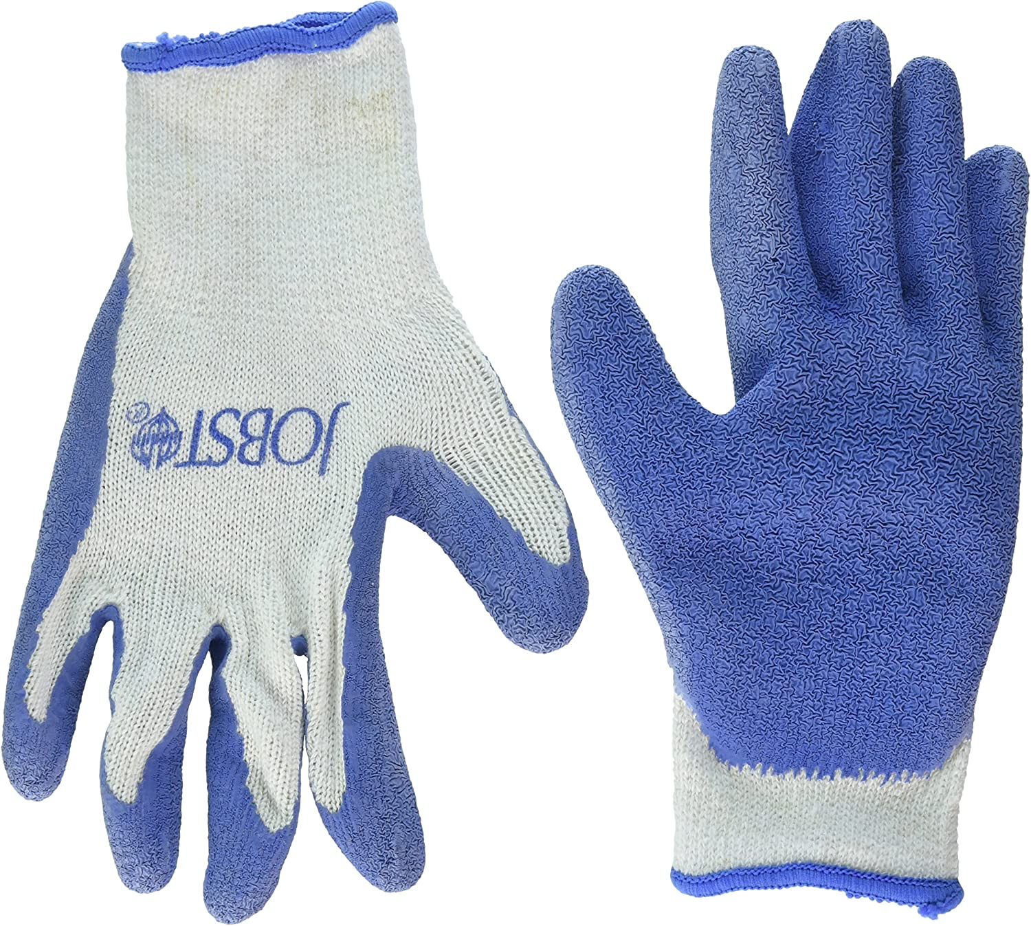 Professional High quality cotton latex dipped Garden Gloves Compression Stock