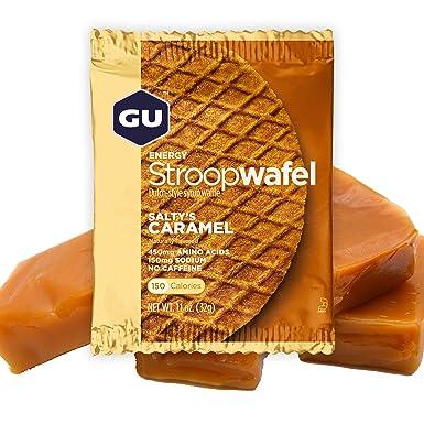GU Energy Gofre de Caramelo Salado - Paquete de 16 x 32 gr - Total: 512 gr: Amazon.es: Alimentación y bebidas