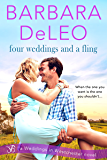 Four Weddings and a Fling (Weddings in Westchester Book 3)