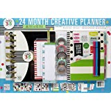 The Happy Planner My Life 24 Month Box Classic Kit January 2017 - December 2018 with Stickers Washi Pens