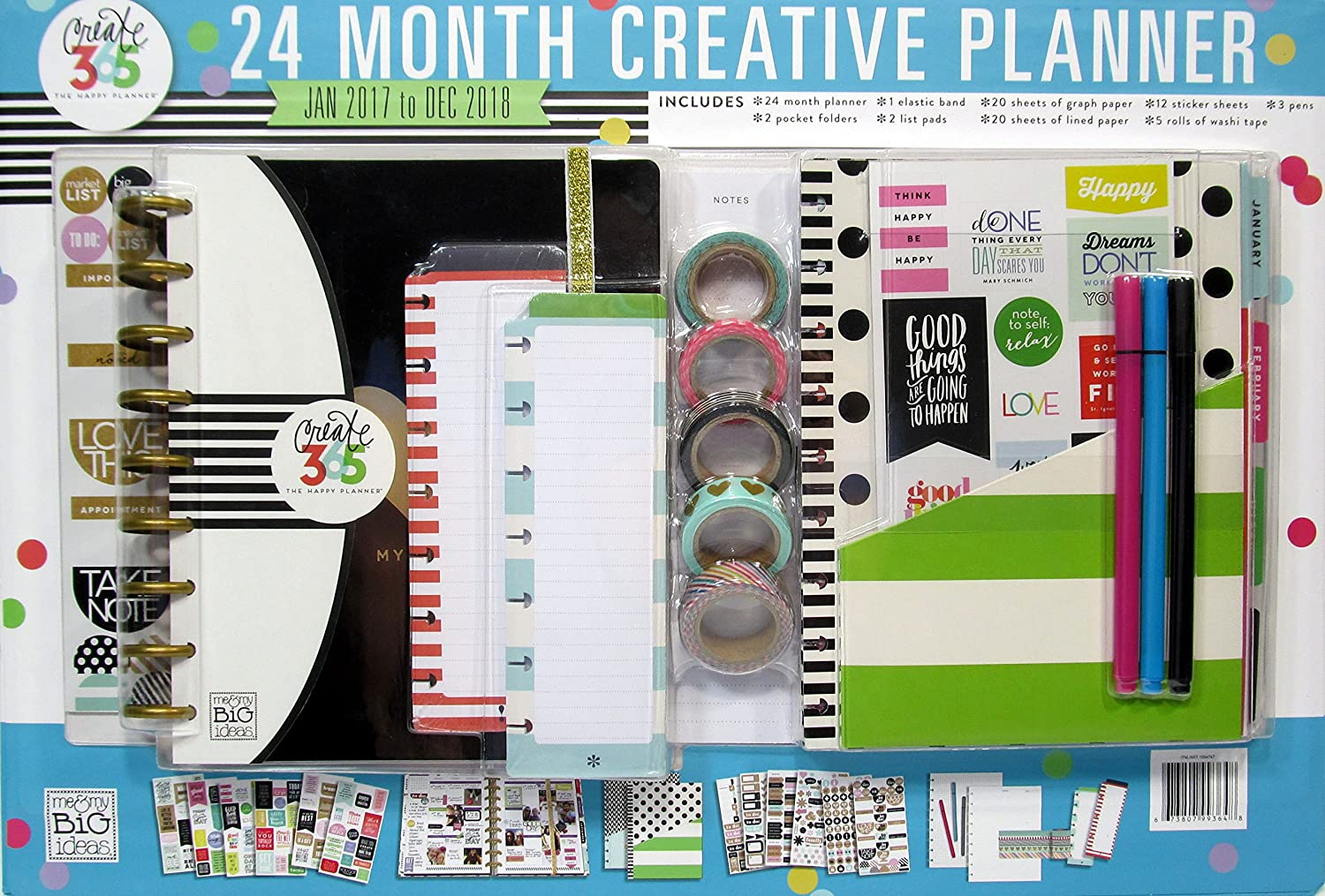 The Happy Planner My Life 24 Month Box