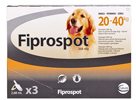fiprospot for Large Dogs (Pack Size: 3 x 2.68 ml pipetas)