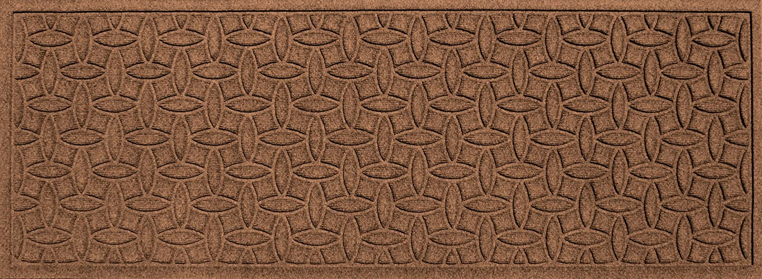 Bungalow Flooring Waterhog Doormat, 2' x 3', Skid Resistant, Easy to Clean, Catches Water and Debris, Ellipse Collection, Bluestone 2' x 3' 20850580023