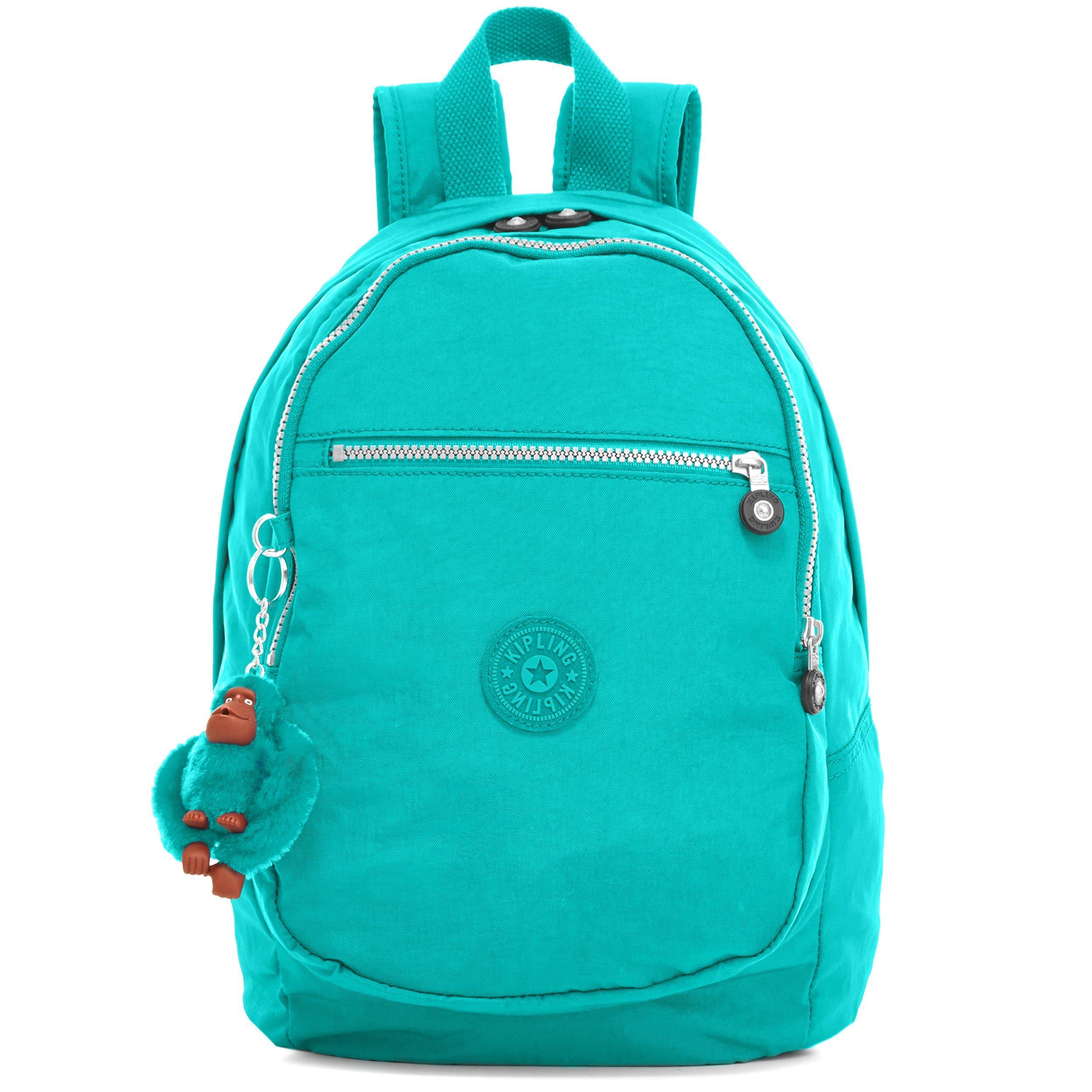 Kipling Challenger II Backpack, Turquoise, One Size