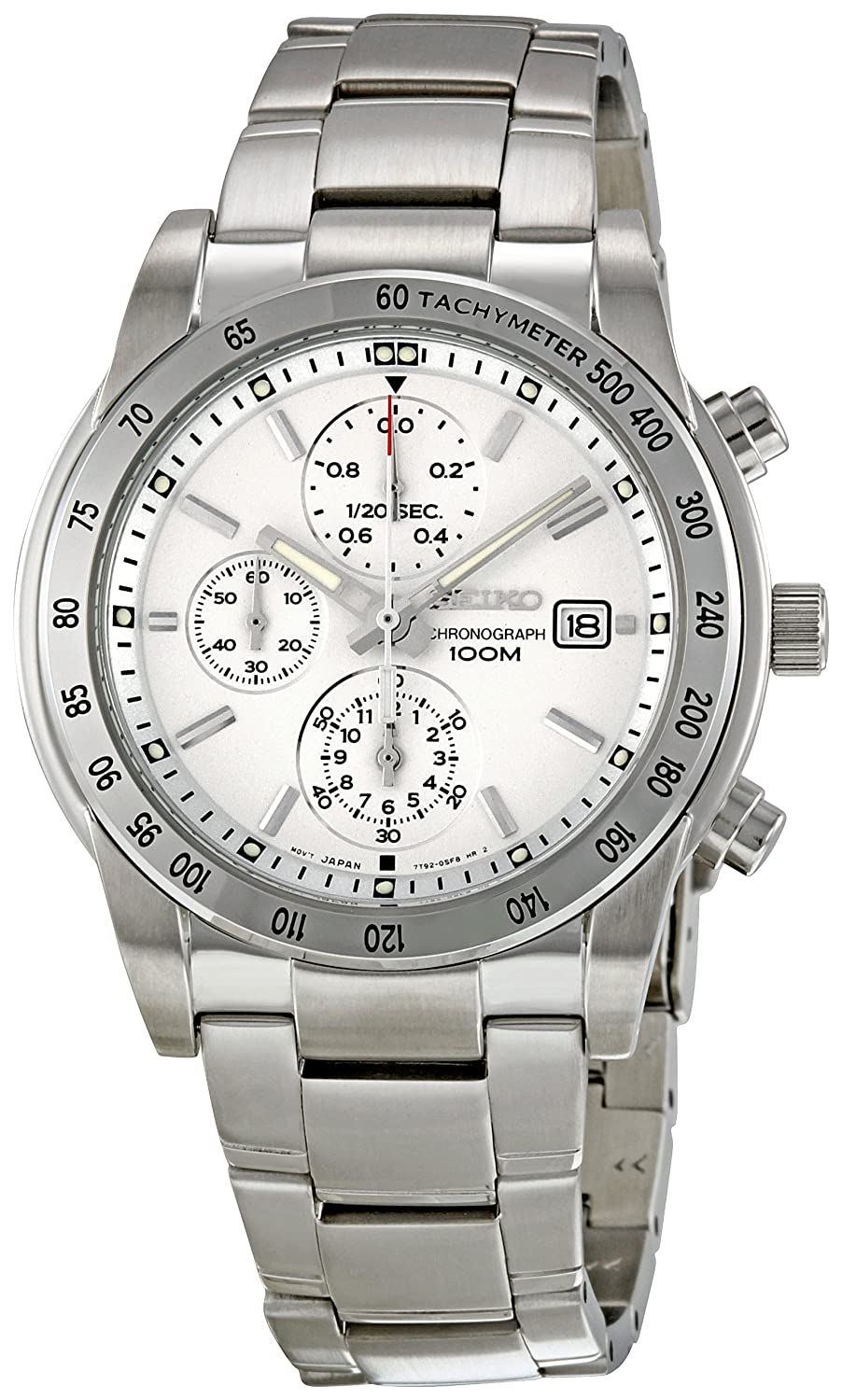 Amazon.com: Seiko Men's SNDD03 Stainless Steel Bracelet Watch: Seiko:  Watches