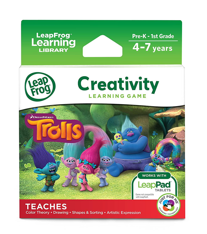 LeapFrog LeapPad Trolls V Tech 80-490600