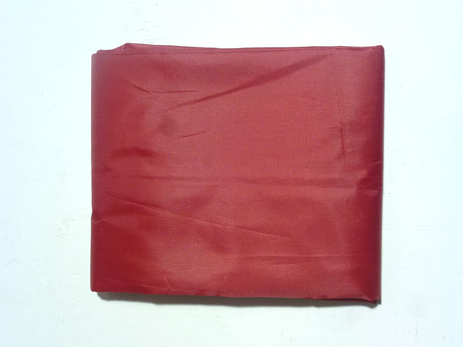 SGL 7FT RED NYLON FITTED POOL TABLE COVER**