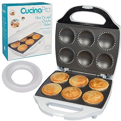 Amazon Mini Pie And Quiche Maker Pie Baker Cooks 6 Small Pies