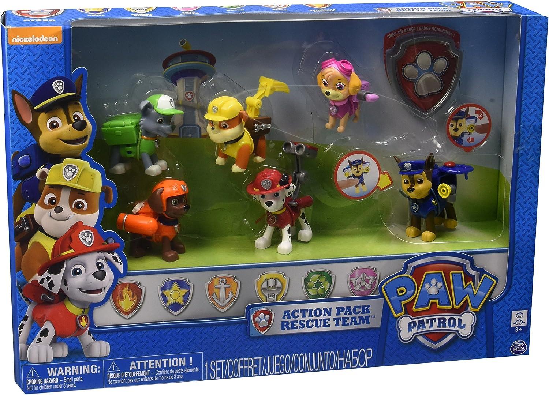PAW PATROL Action Pack Rescue Team: Amazon.es: Juguetes y juegos