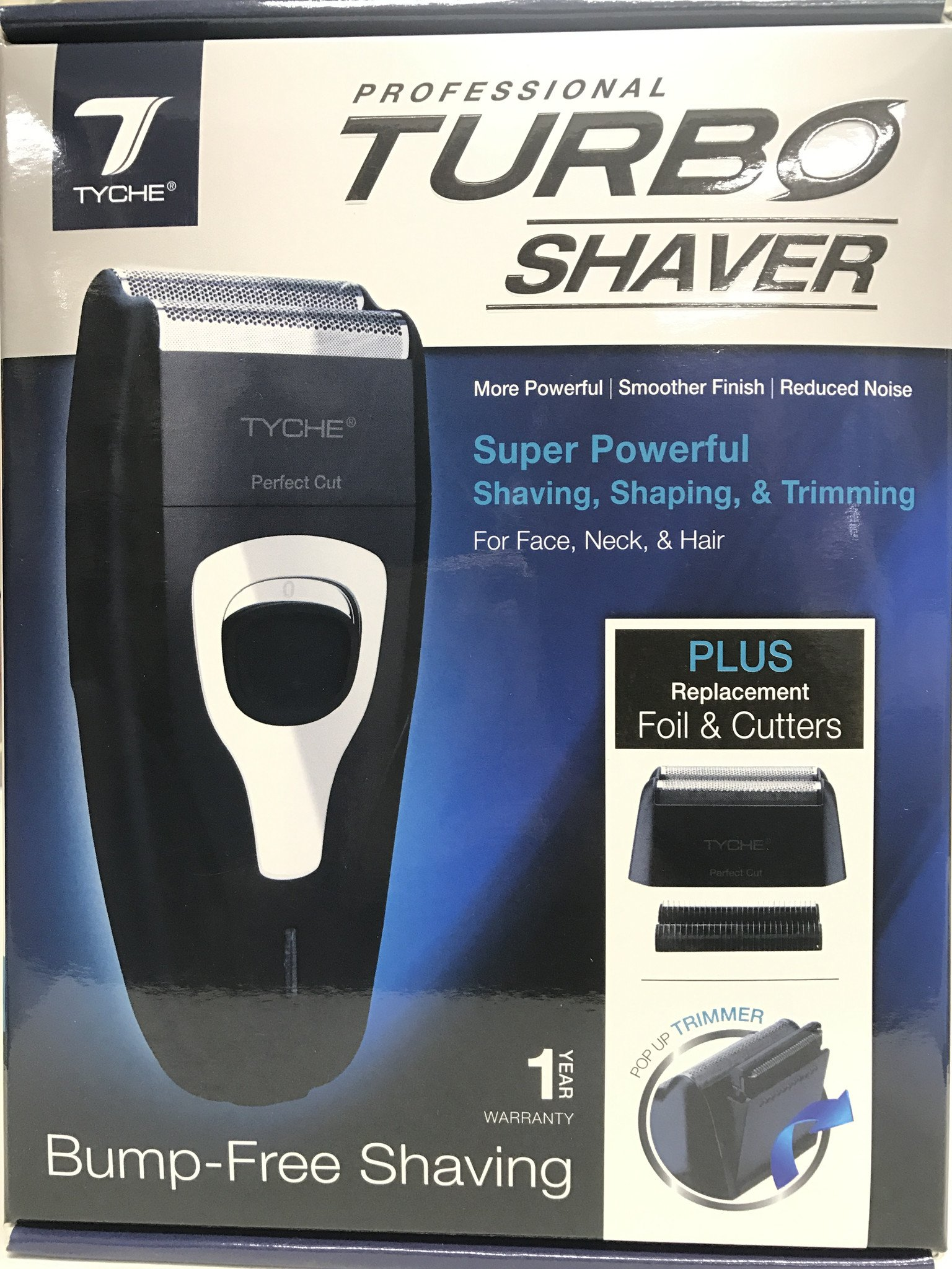 Tyche Turbo Shaver Super Powerful shaving, shaping & trimming THC07