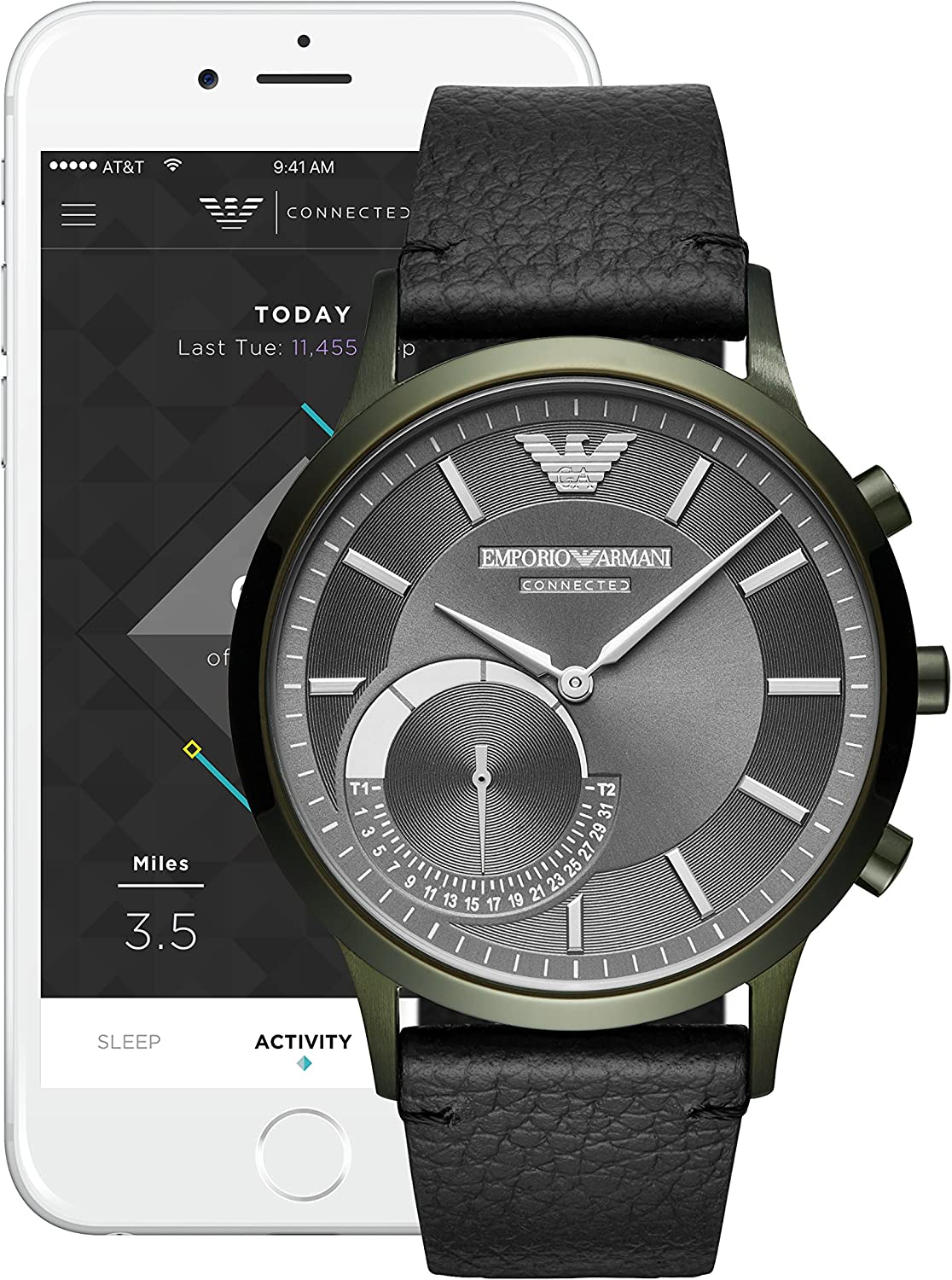 armani connected watch