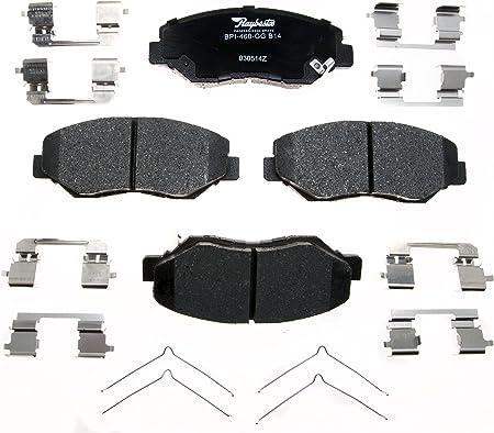 Disc Brake Pad set Quiet Stop Premium Ceramic Front RAYBESTOS PGD409QS