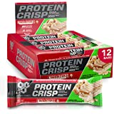 BSN Protein Bars - Protein Crisp Bar by Syntha-6, Whey Protein, 20g of Protein, Gluten Free, Low Sugar, Cold Stone Creamery Apple Pie A La Coldstone, 12 Count
