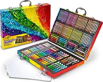 Set 9 pezzi con temperino Colori a pastello Arcobaleno