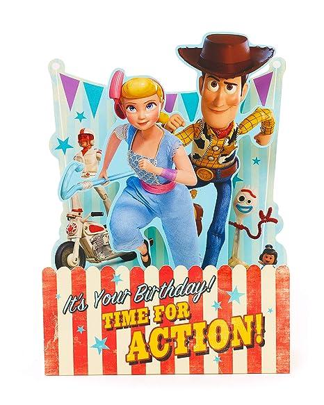 Amazon.com : Toy Story 4 Birthday Card - Birthday Card for ...