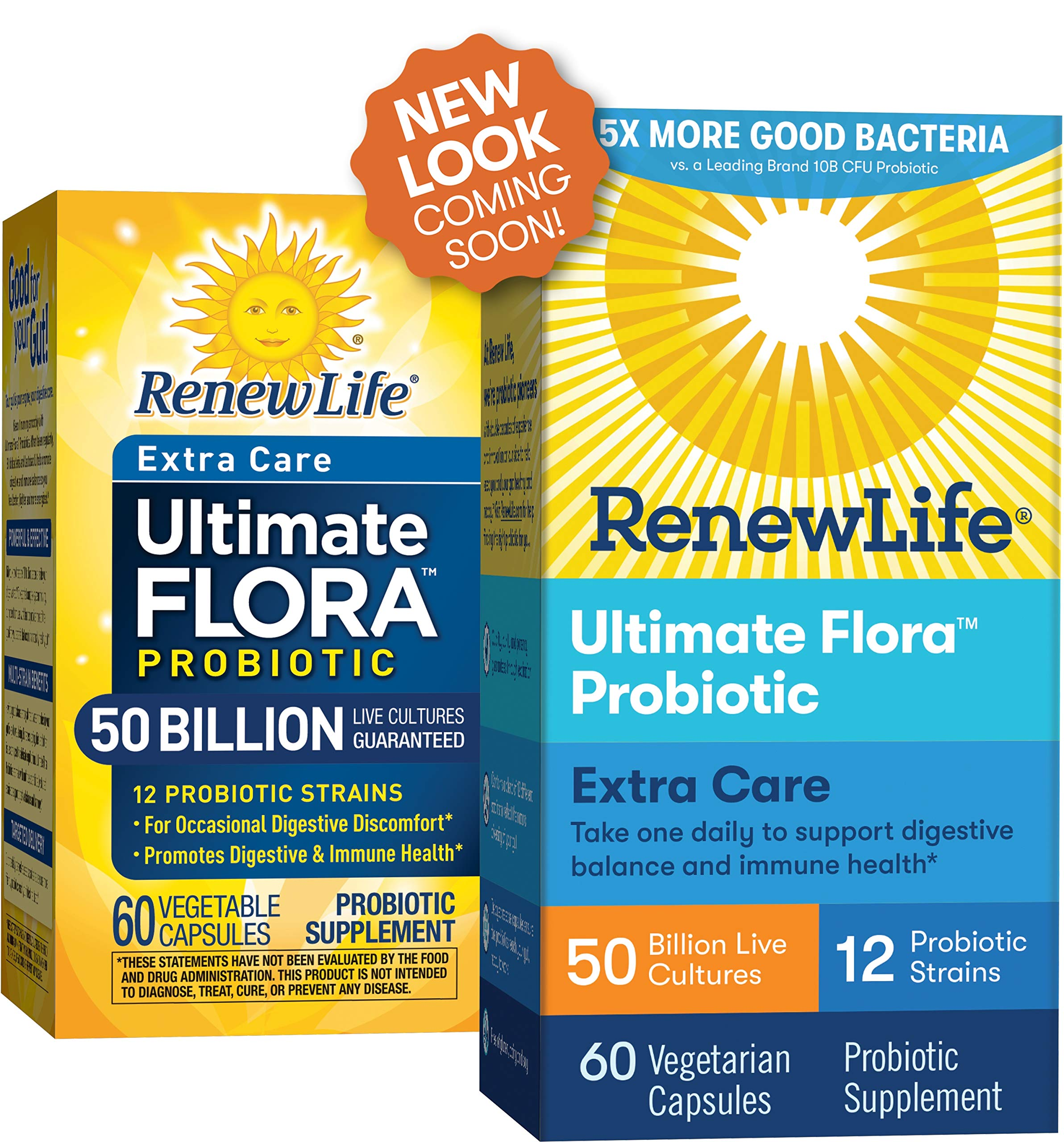 Renew Life Adult Probiotic - Ultimate Flora Extra Care ...