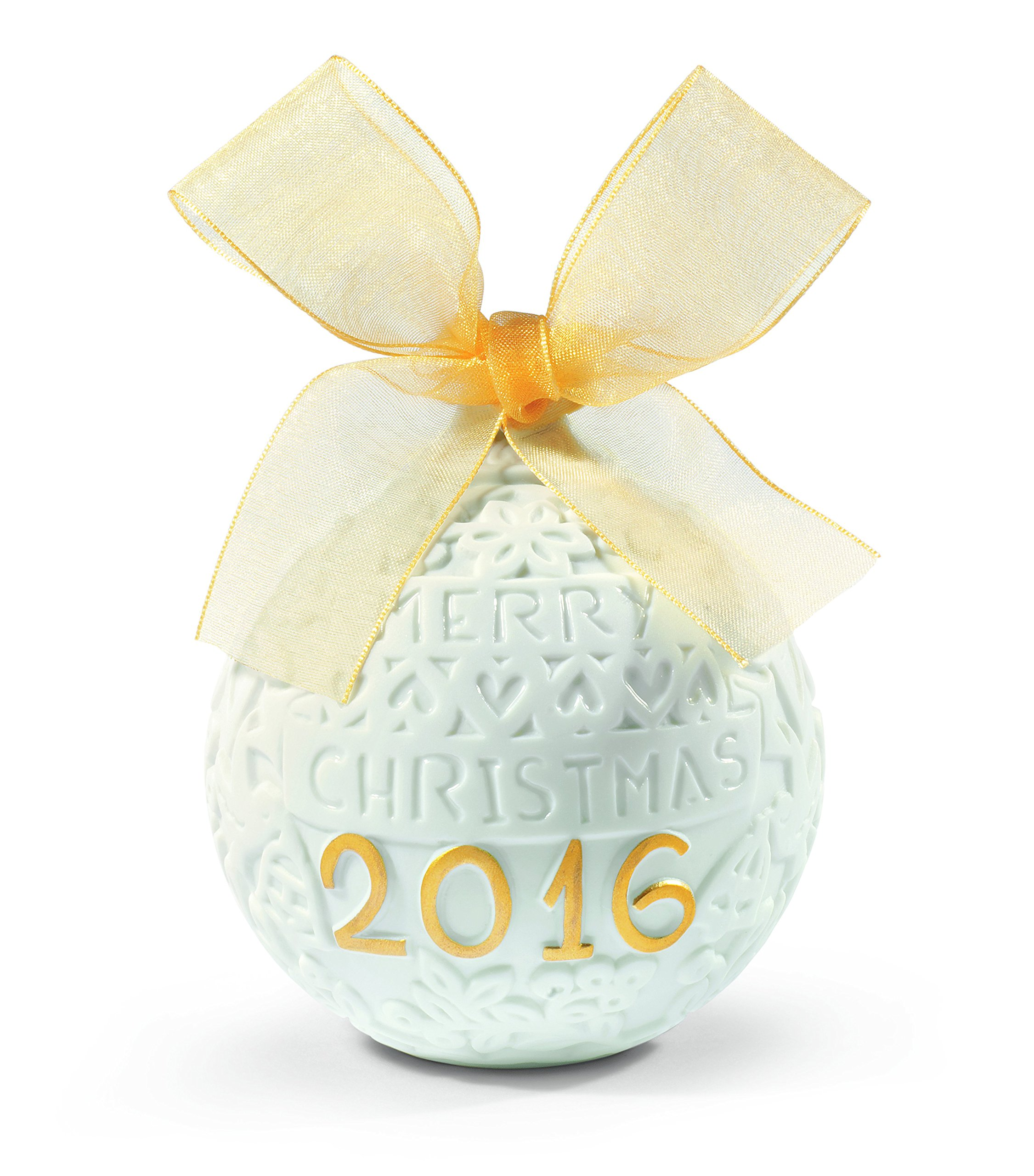 Lladro 2016 Annual Christmas Re-deco Ball Ornament #18412