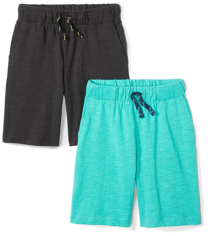 Spotted Zebra Boys' 2-Pack Jersey Knit Shorts BSZ60023SP18