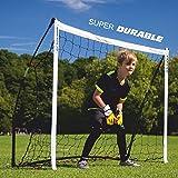 クイックプレイ ポータブル サッカーゴール 1.8m×1.2m 組み立て式ゴール 6KSR