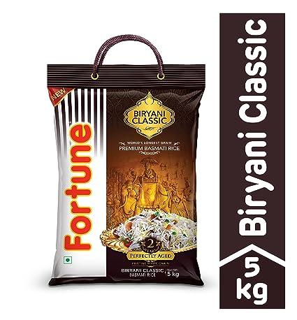 Fortune Biryani Classic Basmati Rice, 5kg