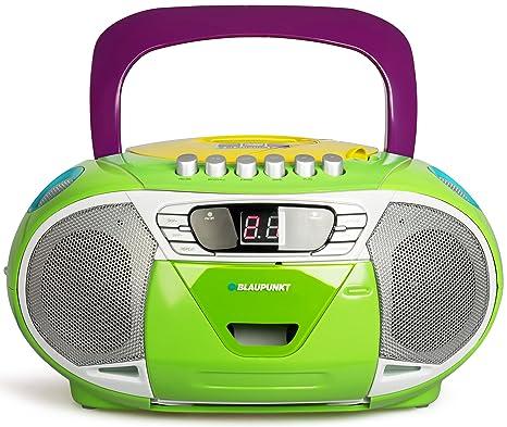2017) – Radio CD portátil con casetes