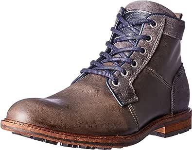 Wild Rhino Men's Tyler Boots, Dark Grey, 8 AU (42 EU)