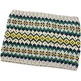 リッチモア 編み物キット パーセント 1/100 作家コラボレーション フラワー模様のネックウォーマー Designed by 風工房 H620-038