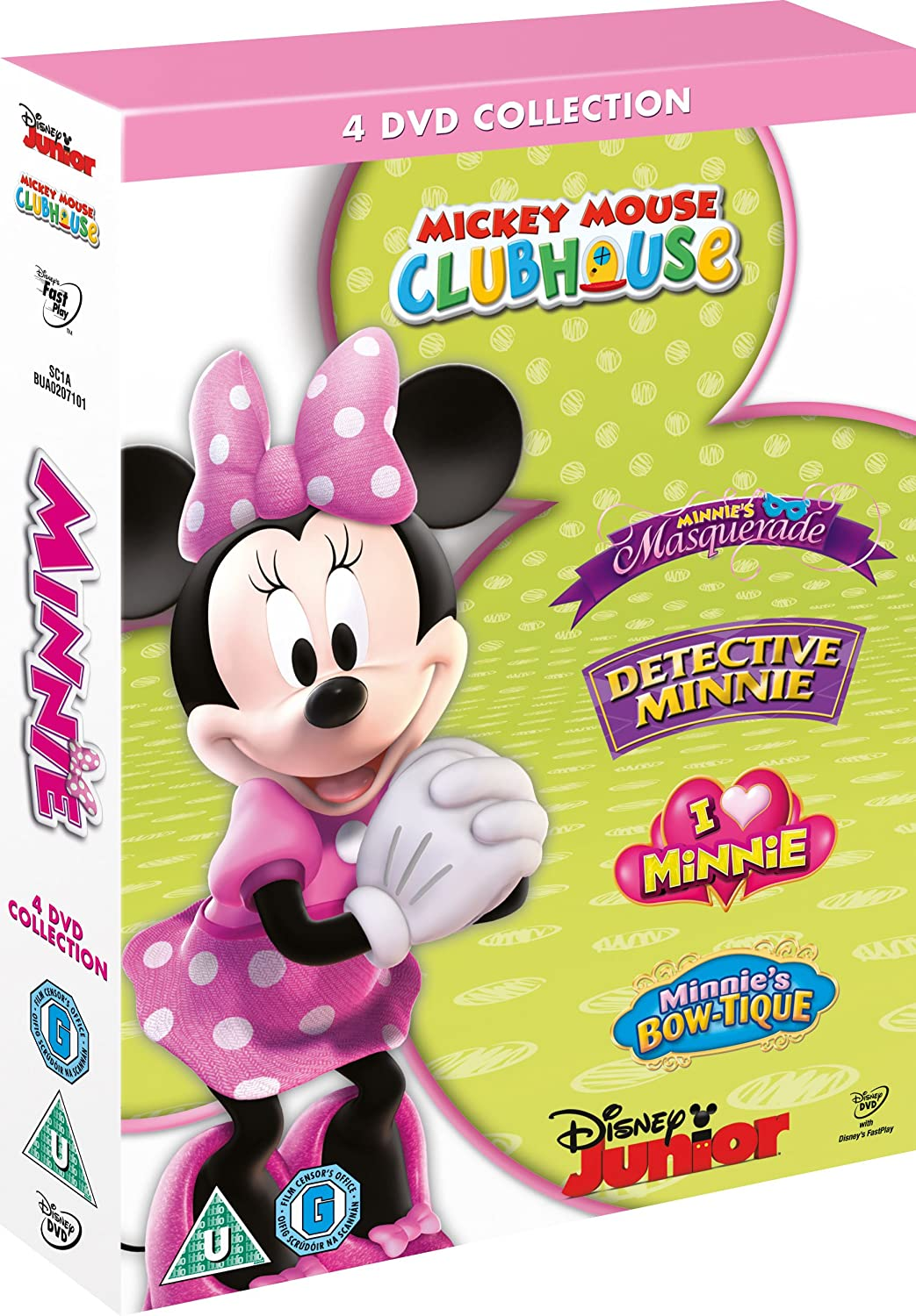minnie mouse collection dvd co uk dvd