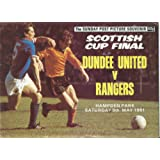 Rangers Dundee United Scottish Cup Final Souvenir Booklet