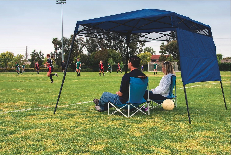 Amazon Quik Shade GO Hybrid Compact Slant Leg Backpack Canopy Blue 7 X Foot Sports Outdoors