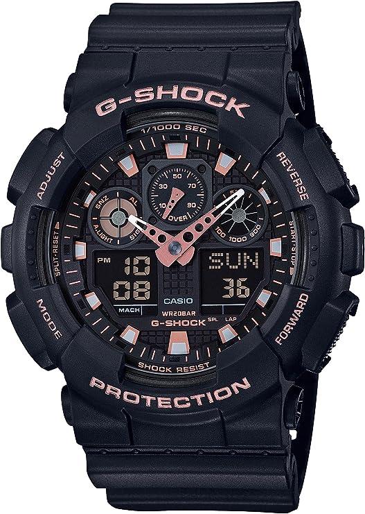 [カシオ] 腕時計 ジーショック BLACK & GOLD GA-100GBX-1A4JF メンズ ブラック