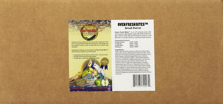 Oven Fresh Bites Baked Avian Diet Small Parred 15 Lb. Bulk Box