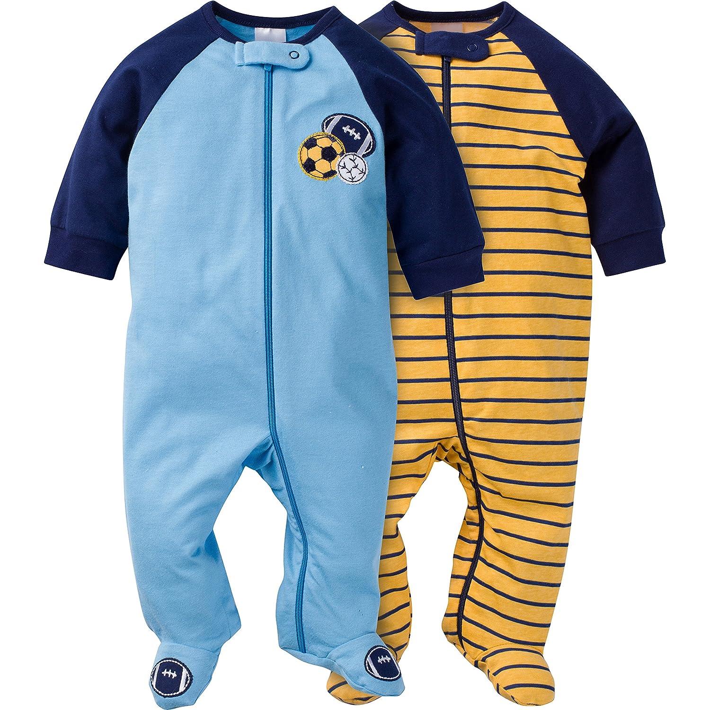 【タイムセール!】 Gerber US SLEEPWEAR Gerber ベビーボーイズ US サイズ: 6-9 Months カラー: ブルー Months B07HYJ6K2R, ショップ竹野:c215bd23 --- a0267596.xsph.ru