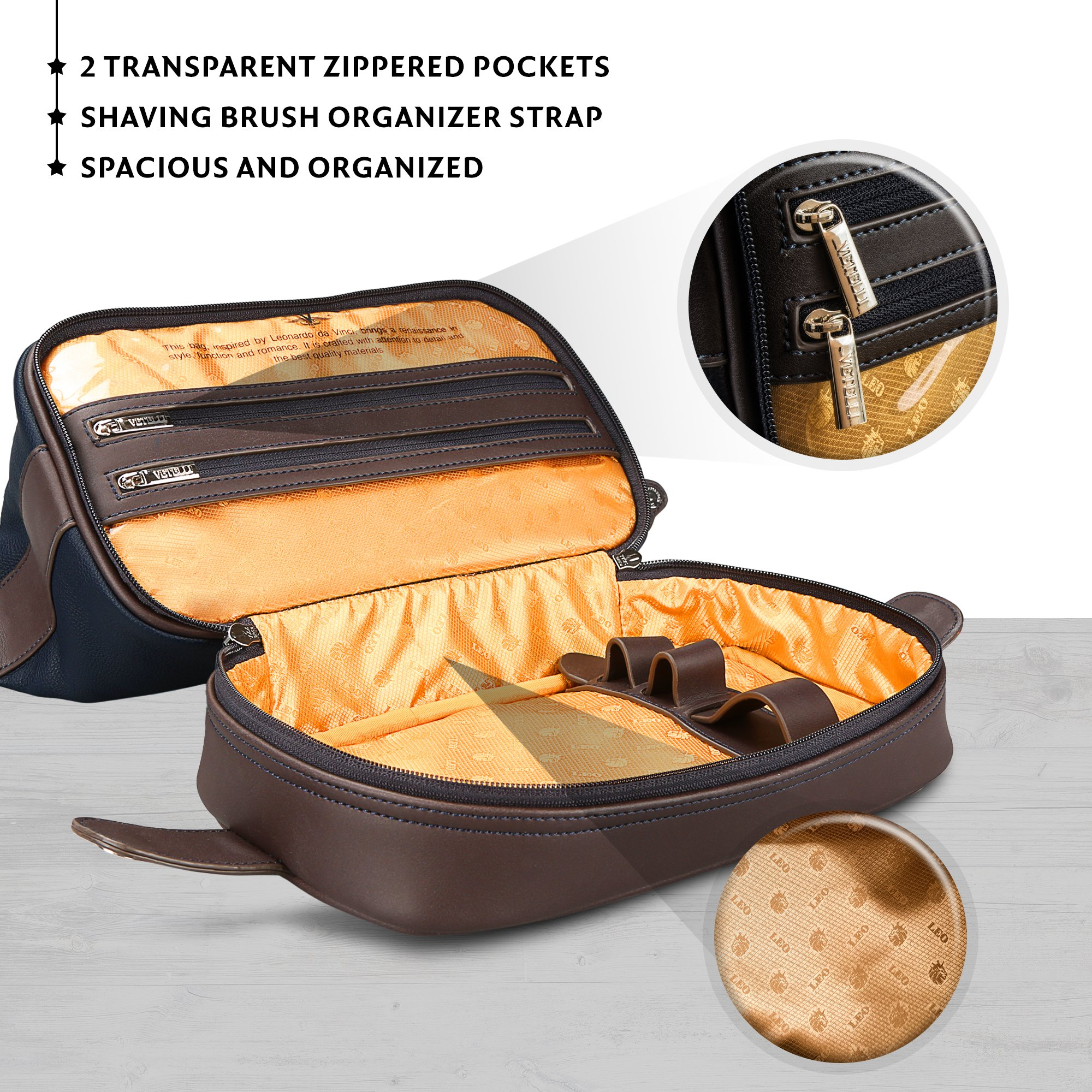 bddf1d1b34 SIMPLICITY IS THE ULTIMATE SOPHISTICATION - A premium quality - durable    versatile toiletry bag measuring 11.5