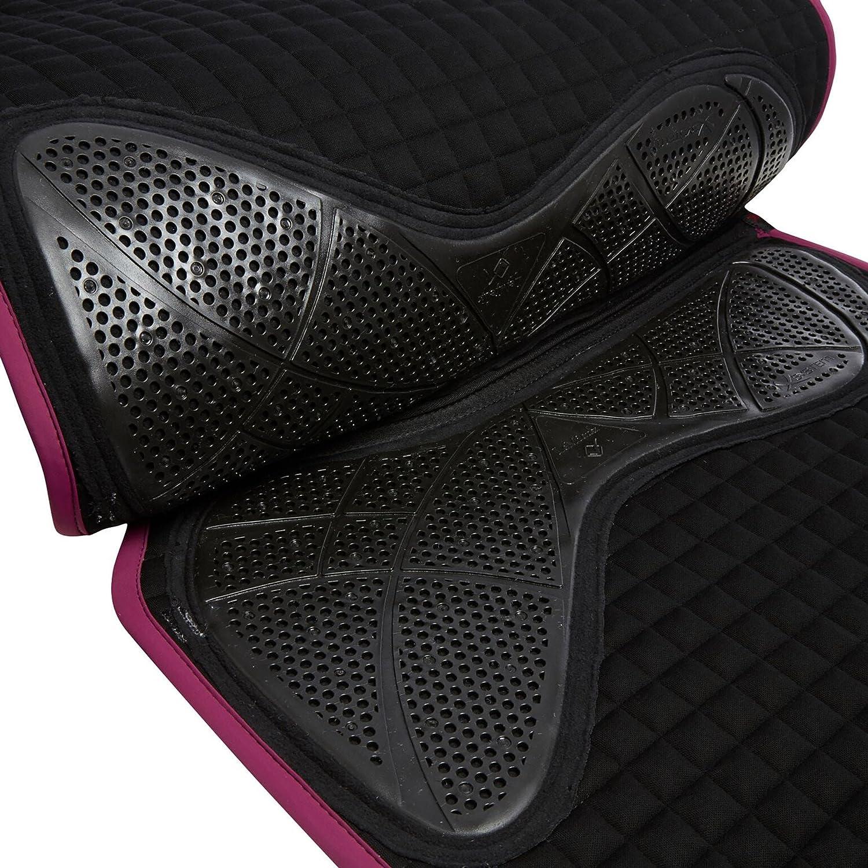 LeMieux X-Grip Simple Face carr/ée de Dressage Saddlepad L