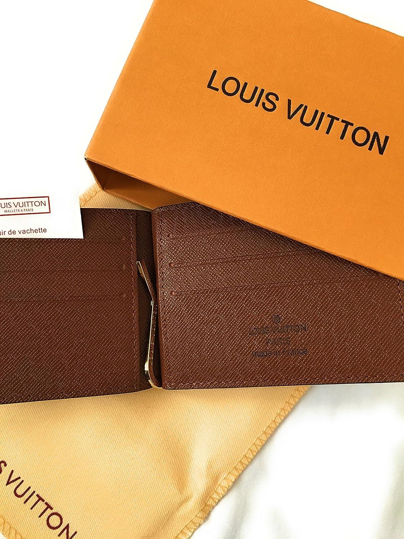 Louis Vuitton Damier Ebene lienzo múltiples tipo cartera n60895: Amazon.es: Zapatos y complementos