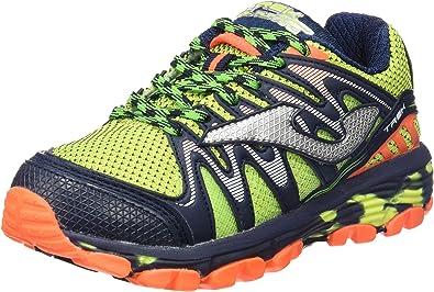 Joma J.Trek JR 611 Fluor-Marino - Zapatillas de Correr en montaña para niños, Color Fluor, Talla 31: Amazon.es: Zapatos y complementos