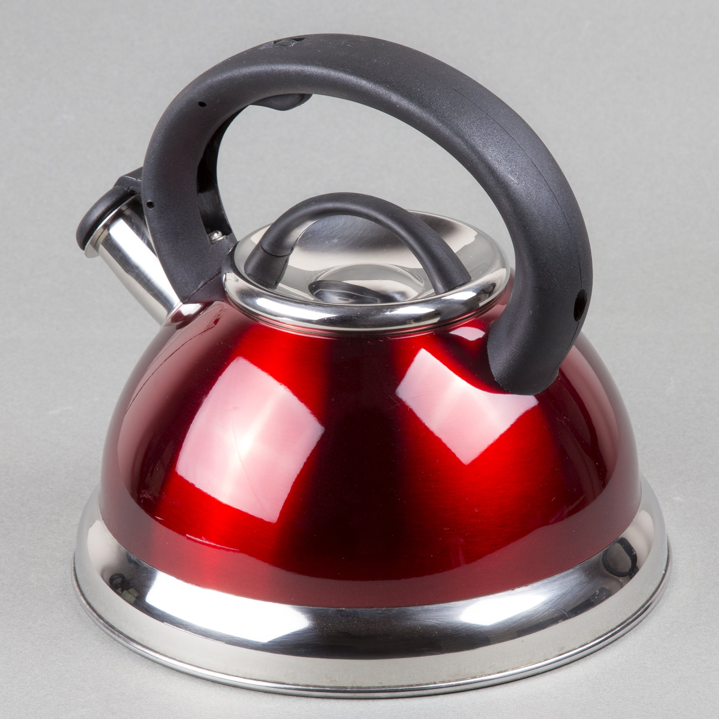 Creative Home Alexa 3.0 Whistling Tea Kettle, Cranberry by Creative Home (Image #6)