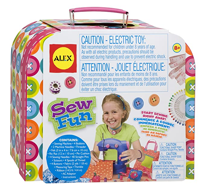 Amazon ALEX Toys Craft Sew Fun Craft Kit Toys Games Enchanting Alex Sew Fun Sewing Machine