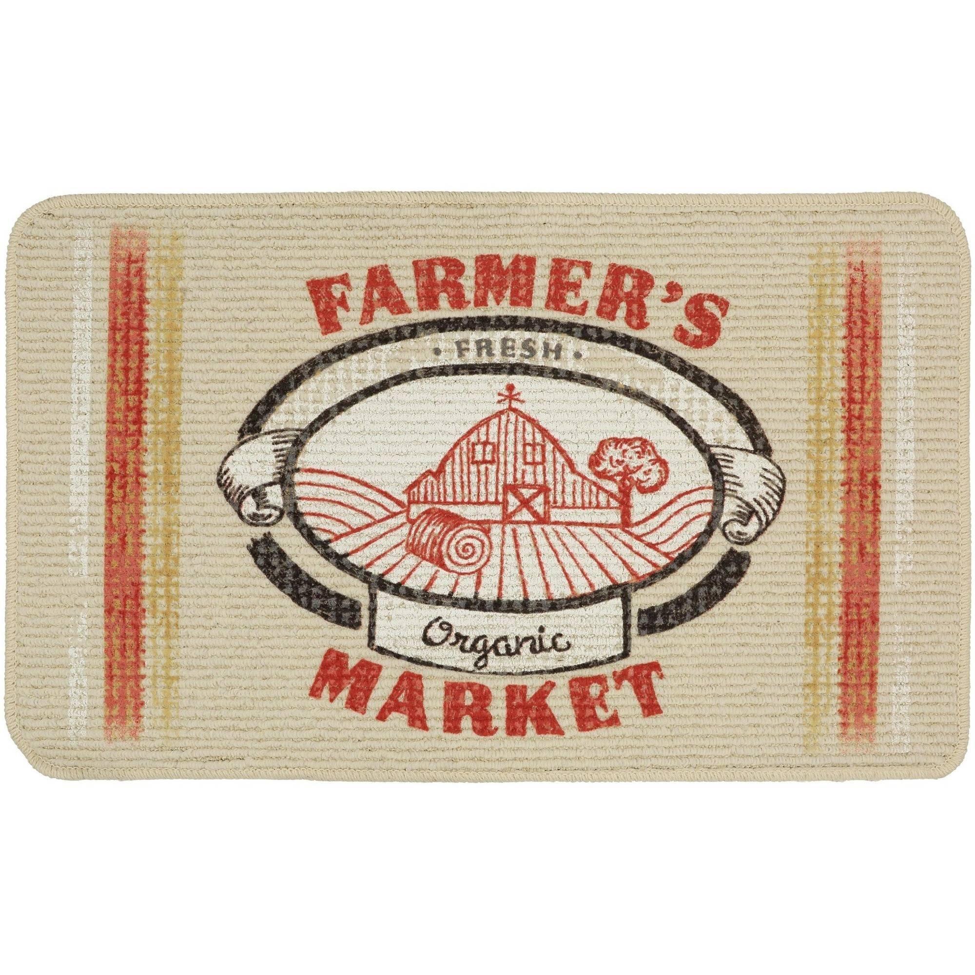 Mainstays Farmers Market Kitchen Rug 18 x 30
