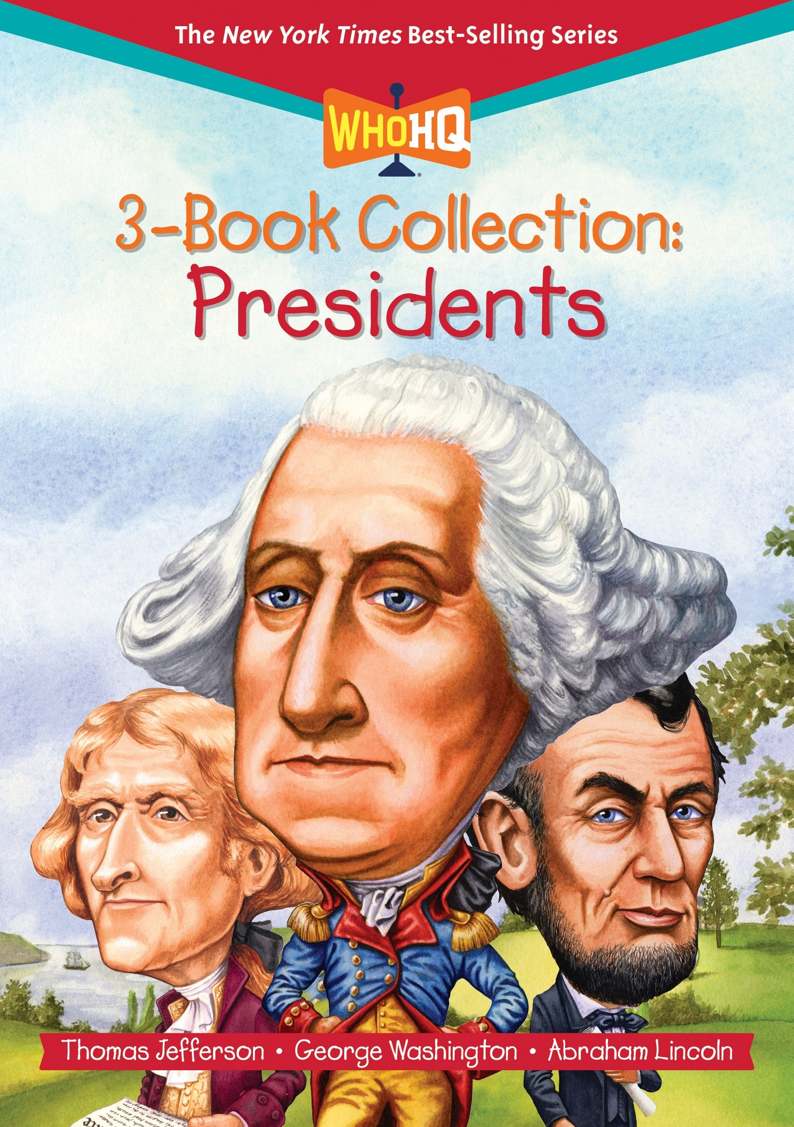 Who HQ 3-Book Collection: Presidents (Who Was?)