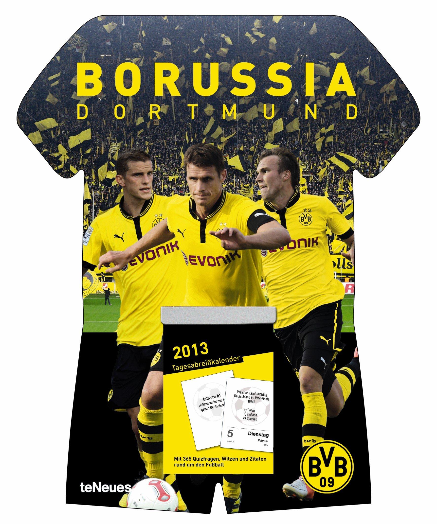 Borussia Dortmund 2013 Tagesabreißkalender