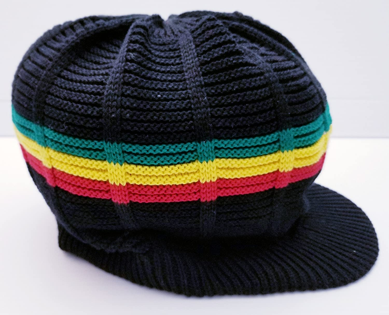 FIREBUN Rasta Rastafari Hat Cap Rastacap Reggae Jamaica Hats Dreadlocks 100/% Cotton M//L