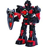 Large Remote Control Robot for Kids – Superb Fun Toy RC Robot – Remote Control Toy Shoots Missiles, Walks, Talks & Dances (10