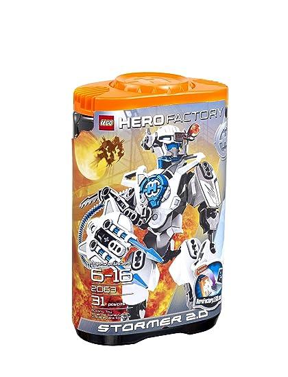 Amazoncom Lego Hero Factory Stormer 20 2063 Toys Games