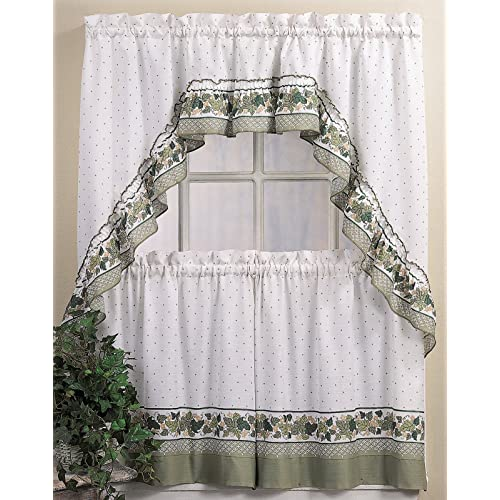 Country Kitchen Curtains Amazon Com: Country Tier And Swag For Windows: Amazon.com