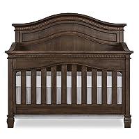 Evolur Cheyenne 5 in 1 Full Panel Convertible Crib in Antique Brown