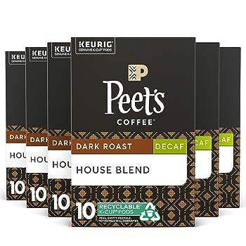 Peet's Coffee Decaf House Blend Coffee