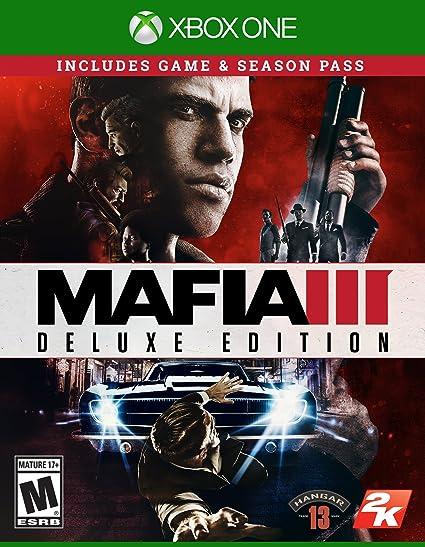 Take-Two Interactive Mafia III Deluxe XBox One De lujo Xbox One Inglés vídeo - Juego (Xbox One, Acción, M (Maduro)): Amazon.es: Videojuegos