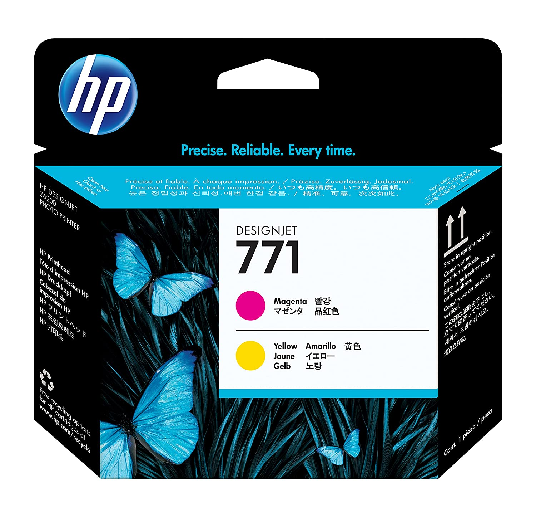 HP 771 純正 プリントヘッド マゼンタ/イエロー CE018A B0046MUNCI